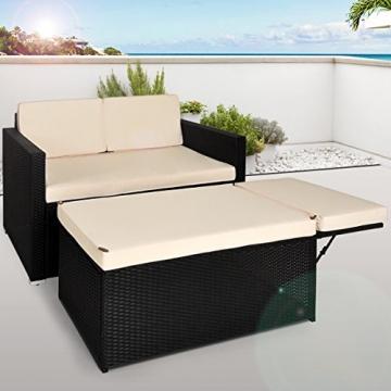 Polyrattan Zweisitzer-Sofa-180917132343