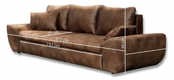 Big Sofa mit Schlaffunktion Großes Relexsofa-181014150153